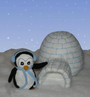 Häkelanleitungen für Tiere und Figuren Häkelanleitung Klaus der Pinguin Amigurumi