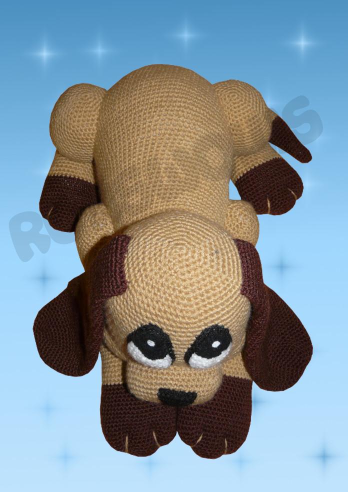 Häkelanleitungen für Tiere und Figuren Häkelanleitung Shady der Hund Amigurumi