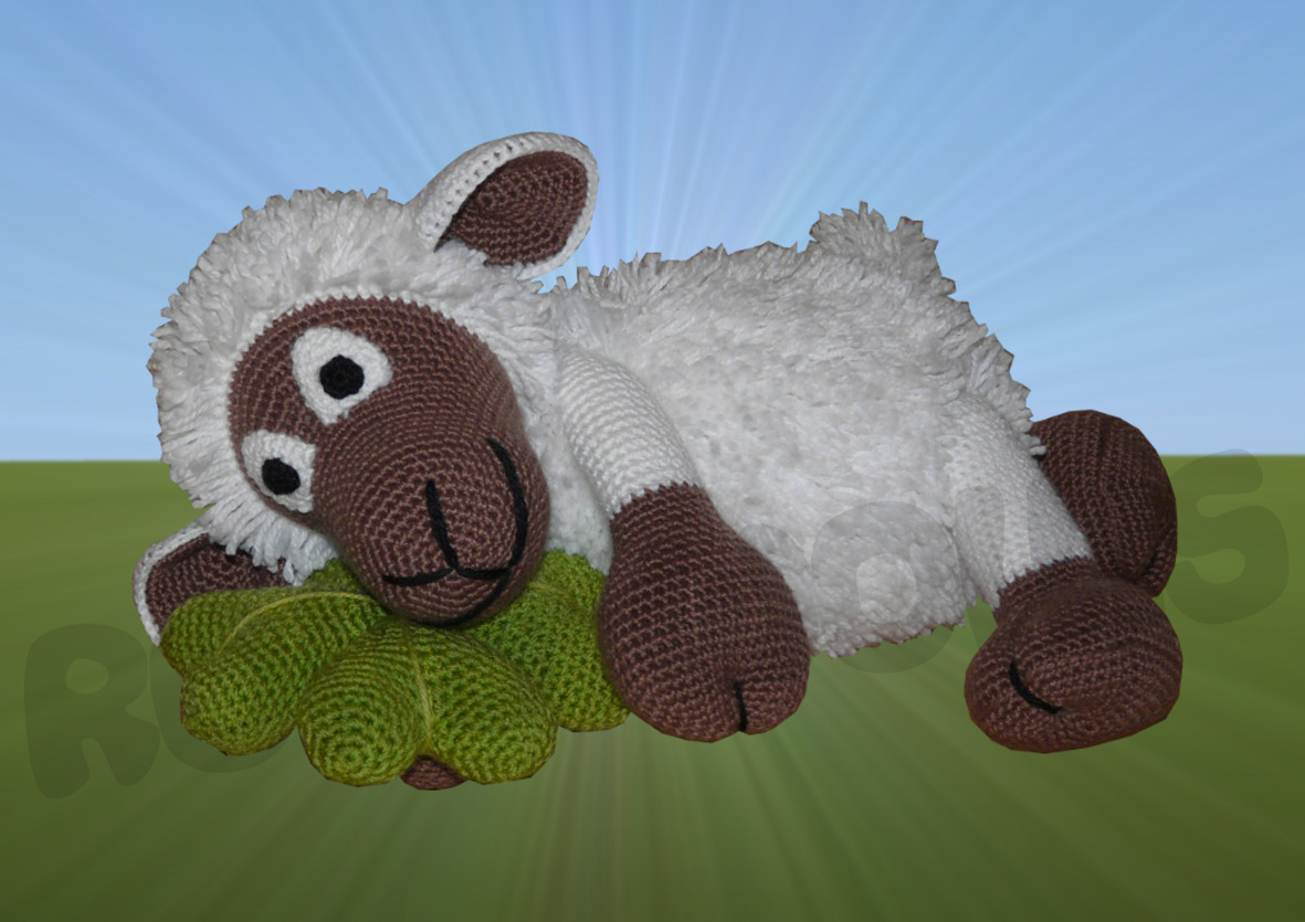 Häkelanleitungen für Tiere und Figuren Häkelanleitung Shelby das Schaf Amigurumi