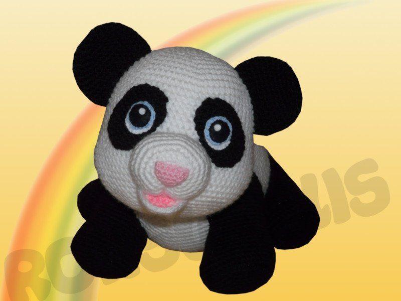Adorable Pink Panda Hat - Free Crochet Pattern! | 600x800