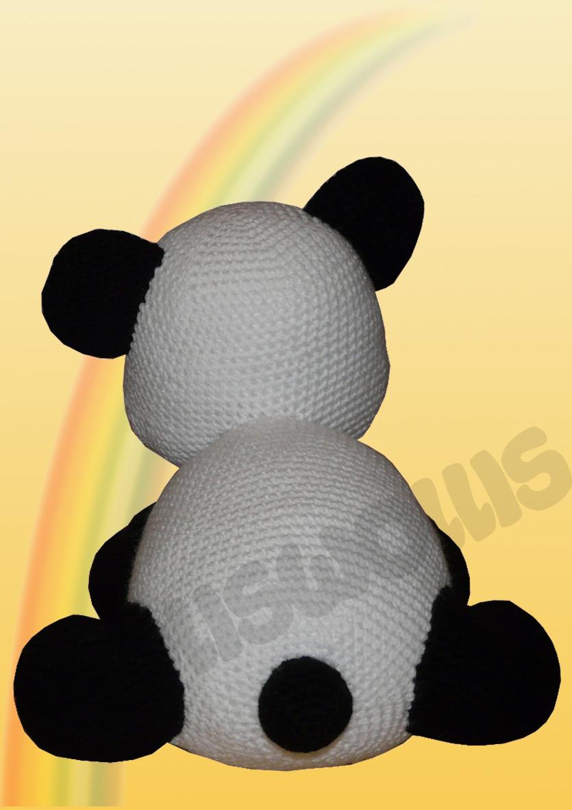 Häkelanleitungen für Tiere und Figuren Häkelanleitung Shiro der Panda Amigurumi