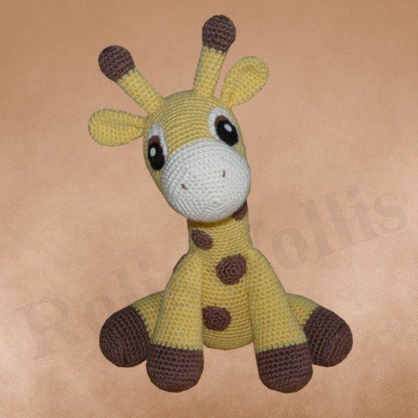 Häkelanleitungen für Tiere und Figuren Häkelanleitung Kara die Giraffe Amigurumi