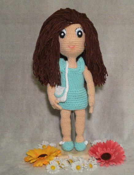 Häkelanleitungen für Tiere und Figuren Häkelanleitung Sally die Puppe Amigurumi