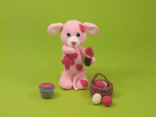 Häkelanleitungen für Tiere und Figuren Häkelanleitung Tiffy die Maus Amigurumi