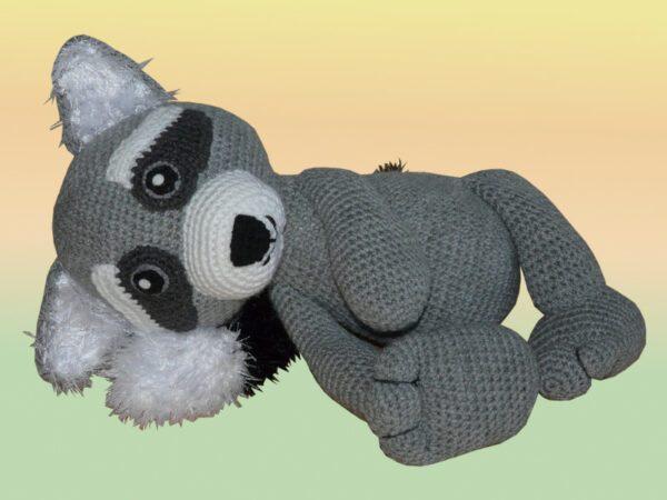 Häkelanleitungen für Tiere und Figuren Häkelanleitung Twinky der Waschbär Amigurumi