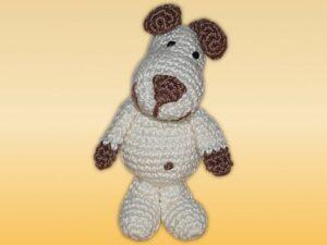 Häkelanleitungen für Schlüsselanhänger Häkelanleitung Schlüsselanhänger kleiner Hund Amigurumi