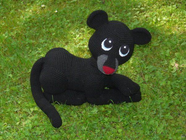 Häkelanleitungen für Tiere und Figuren Häkelanleitung Shadow der Panther Amigurumi