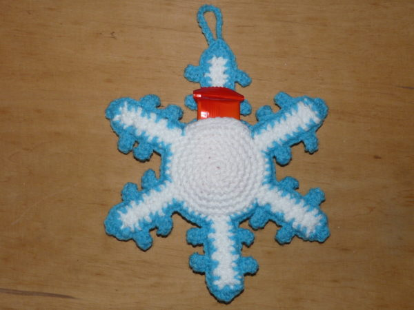 Adventskalender Motivebeutel Schneeflocke