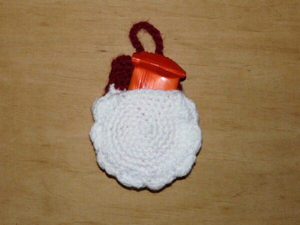 Häkelanleitungen für Weihnachten Häkelanleitung Adventskalender Beutel Weihnachtsmann Adventskalender