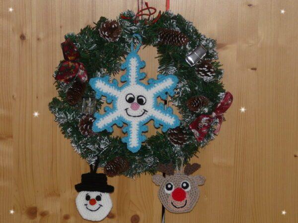 Häkelanleitungen für Weihnachten Häkelanleitung Adventskalender Adventskalender