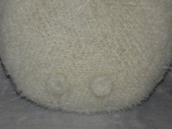 Häkelanleitungen für Kissen und Bezüge Häkelanleitung flauschiges Panda Kissen Dekoration