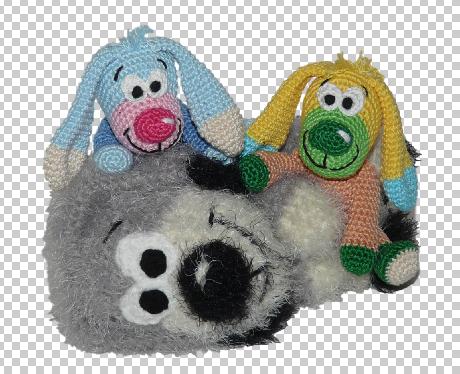 Häkelanleitungen für Tiere und Figuren Häkelanleitung Wollrest Hund Amigurumi