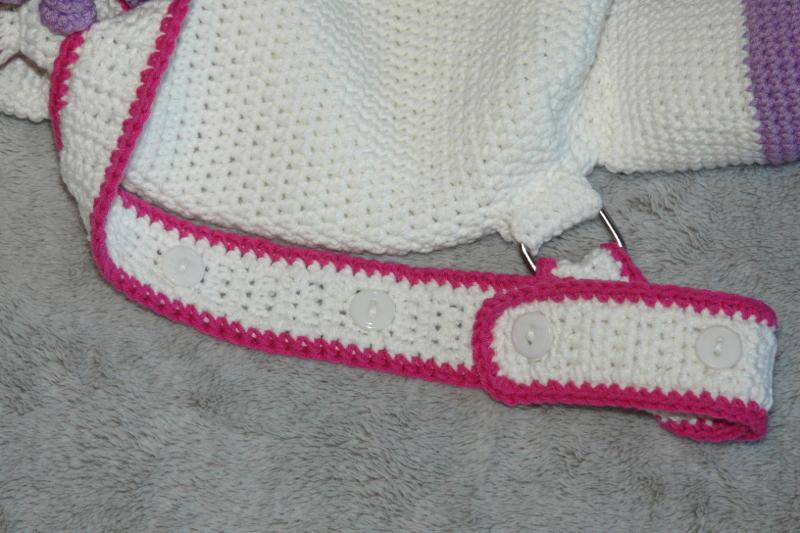 Häkelanleitungen für Taschen Häkelanleitung Einhorn Kinderrucksack Amigurumi