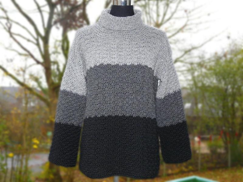 Häkelanleitungen für Bekleidung Häkelanleitung warmer Pullover