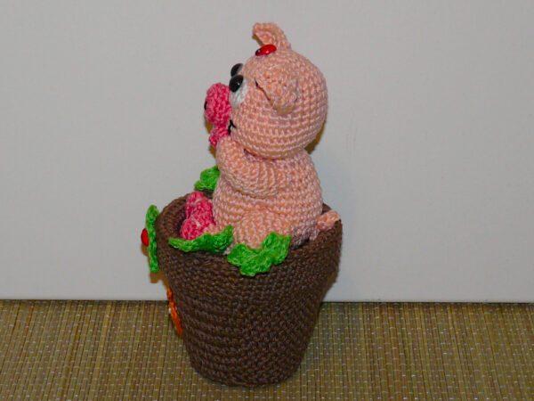 Häkelanleitungen für Glücksbringer Häkelanleitung Glücksschweine Amigurumi