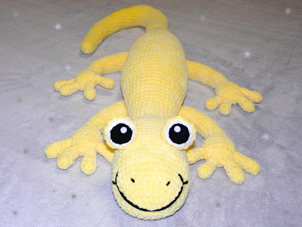 Häkelanleitungen für Tiere und Figuren Häkelanleitung Baxter der Salamander Amigurumi